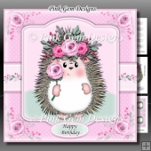 Hedgy With Roses Mini Kit