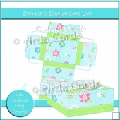 Bonnets & Bowties Cake Box