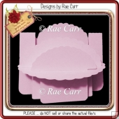 905 Scalloped Shelf Card *Multilple MACHINE Formats*