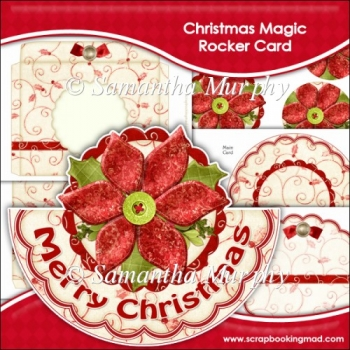 Christmas Magic Rocker Card Download
