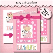 Baby Girl Card Front