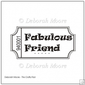 Fabulous Friend Digital Stamp/Sentiment