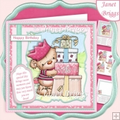 BEARING PRESENTS All Occasions 7.5 Decoupage & Insert Mini Kit