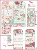 Friendship Stitches Tag Booklet and Tags