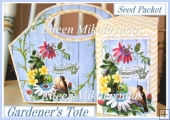 Gardener's Tote Bag Set with Seed Packet