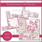 Butterfly Garden 4 Flap Fold Card