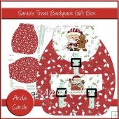 Santa's Treat Backpack Gift Box