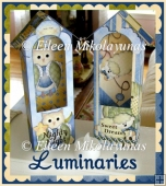 Sweet Dreams Lamb and Owl Luminary Kits with Directions