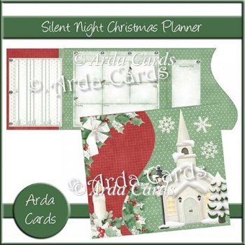 Silent Night Christmas Planner