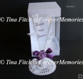 Wedding Flute & Box, SVG, MTC, SCAL, CRICUT, CAMEO