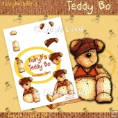Fairydoodler's Teddy Bo Decoupage Sheet