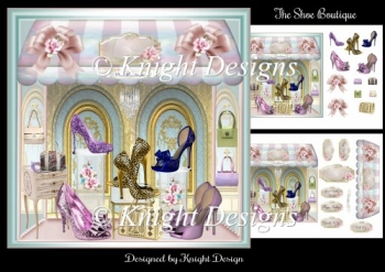 The Shoe Boutique Mini Page Kit