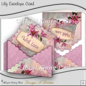 Lily Envelope Card