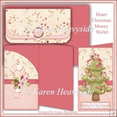Heart Christmas Money Wallet