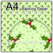 ref1_bp353 - Green Christmas Holly