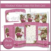 Woodland Wishes Double Foldback Cards