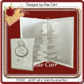 094 Wedding Cake Insert *Multiple MACHINE Formats*