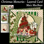 Christmas Memories - Layered Card