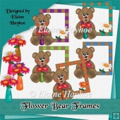 Flower Bear Frames