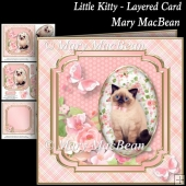 Little Kitty - Layered Card