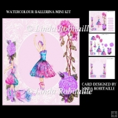 Watercolour Ballerina Mini Kit