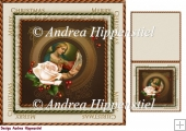 7.5 x 7.5 Card Topper & Gifttag Christmas 18