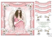 "Guardian Angel (3) - 7.5"" x 7.5"" Card Topper"