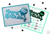 Birthday Topper Design