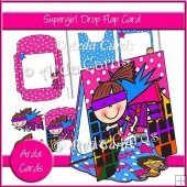 Supergirl Drop Flap Card