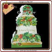 418 Christmas Bell Treat Box *MACHINE & HAND Formats*