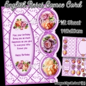 English Roses Cameo Card