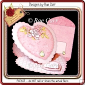 080 Heart Easel Card & Envie *Studio*