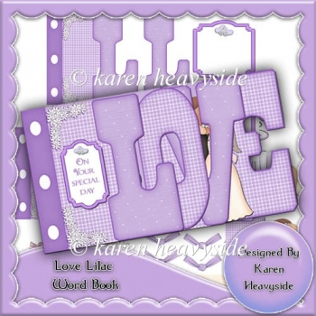 Love Lilac Word Book