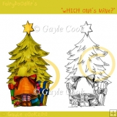 "Fairydoodler's ""Which one's mine?"" Clipart & Line Art"