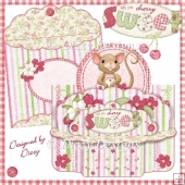 Cherry Sweet Shelf Card