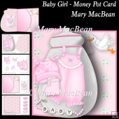 Baby Girl - Money Pot Card