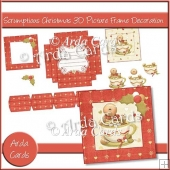 Scrumptious Christmas 3D Picture Frame Decoration