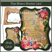 Rose Blooms Bracket Card