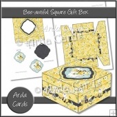 Bee-autiful Square Gift Box