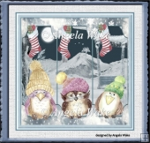 Hooting Christmas owls