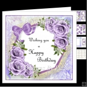 Birthday Flowers_Lilac Mini Kit