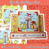 Elf Pop Out Stepper Card