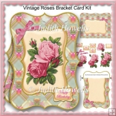 Vintage Roses Bracket Card Kit
