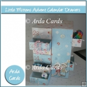 Little Mittens Advent Calendar Drawers