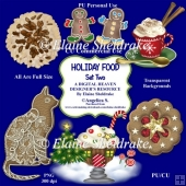Christmas Holiday Foods - Set Two - Designer Resource For CU PU