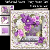 Enchanted Places - Wavy Frame Card