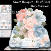 Sweet Bouquet - Easel Card