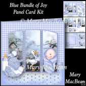 Blue Bundle of Joy - Panel Card Kit