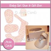 Baby Girl Shoe & Gift Box