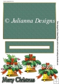 Christmas Bell Penny Slider Card